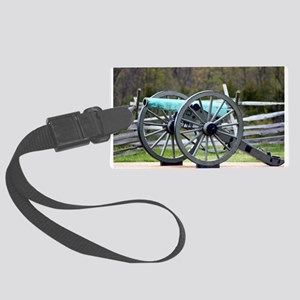 Patina Cannon Large Luggage Tag