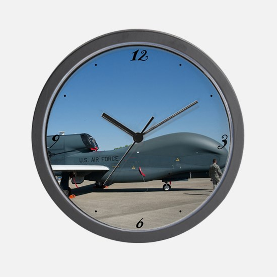 Global Hawk Wall Clock