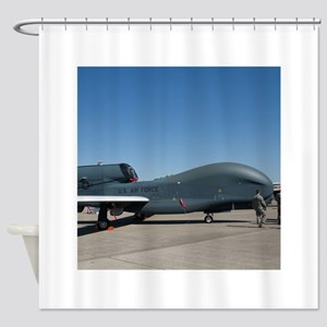 Global Hawk Shower Curtain