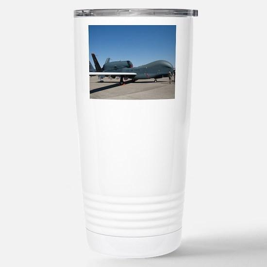 Global Hawk Stainless Steel Travel Mug