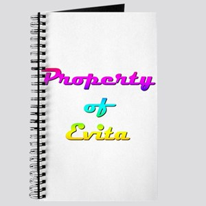 Property Of Evita Female Journal