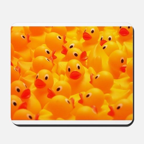 Rubber Duckies  Mousepad