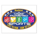 Dog Powered Sports - Live To Run Posters