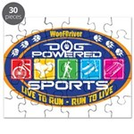 Dog Powered Sports - Live To Run Puzzle