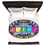 Dog Powered Sports - Live To Run King Duvet