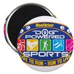 Dog Powered Sports - Live To Run Magnets