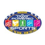 Dog Powered Sports - Live To Run Wall Decal