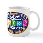 Dog Powered Sports - Live To Run Mugs