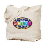 Dog Powered Sports - Live To Run Tote Bag