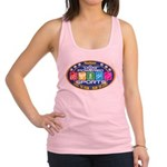 Dog Powered Sports - Live To Run Racerback Tank To