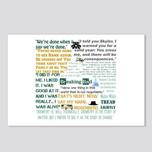 Walter White Quotes Postcards (Package of 8)