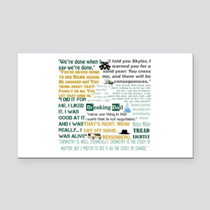 Walter White Quotes Rectangle Car Magnet