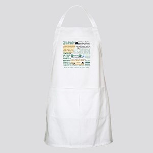 Walter White Quotes Apron