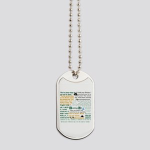 Walter White Quotes Dog Tags