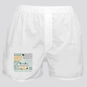 Walter White Quotes Boxer Shorts