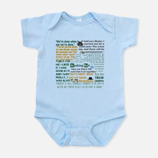 Walter White Quotes Infant Bodysuit