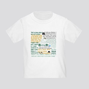 Walter White Quotes Toddler T-Shirt
