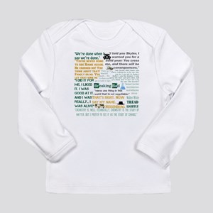 Walter White Quotes Long Sleeve Infant T-Shirt