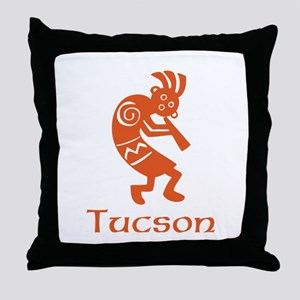 Tucson Kokopelli Throw Pillow