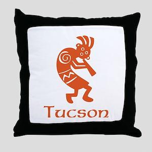 Tucson Kokopelli Throw Pillow