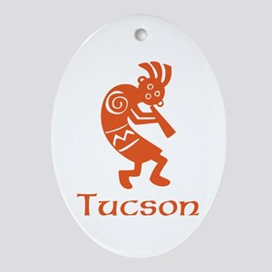 Tucson Kokopelli Ornament (Oval)