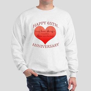 65th. Anniversary Sweatshirt