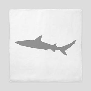 Grey Shark Queen Duvet