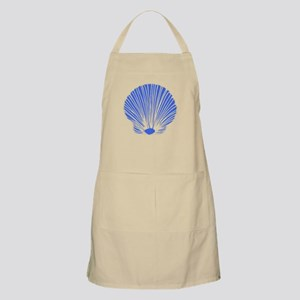 Blue Sea Shell Apron