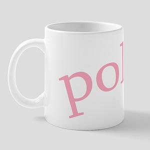 """""""Polish with Heart"""" Mug"""