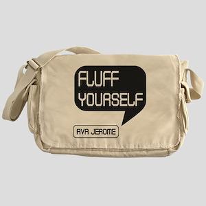Ava Jerome Fluff Yourself Black Bubble Messenger B