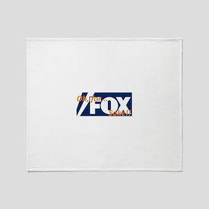 For FOX Sake Throw Blanket