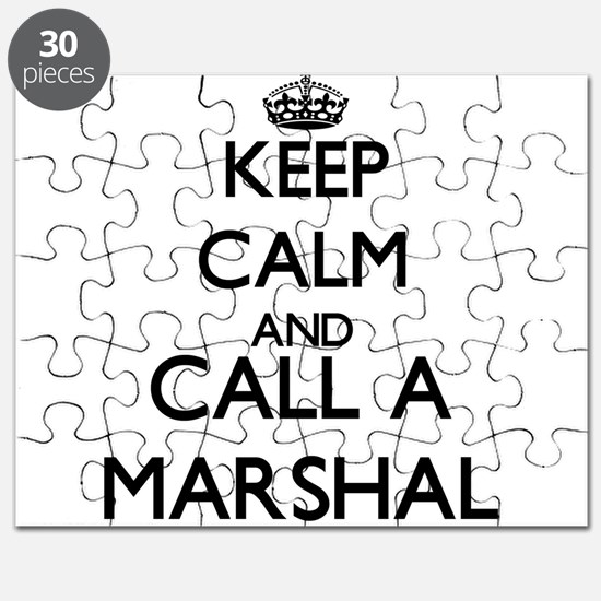 Keep calm and call a Marshal Puzzle