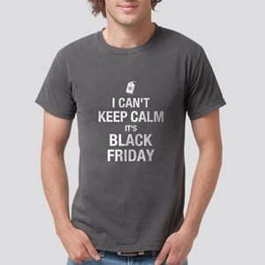 Keep Calm Black Friday Mens Comfort Colors Shirt
