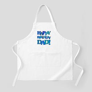 Happy Birthday Dad Apron