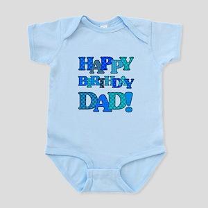 Happy Birthday Dad Body Suit