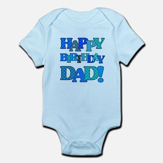 Happy Birthday Dad Body Suit