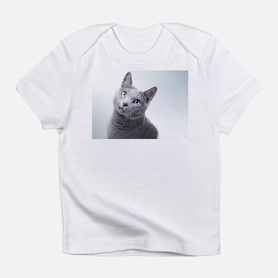 russian blue cat Infant T-Shirt