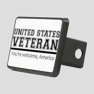 United States Veteran DD214 Hitch Cover