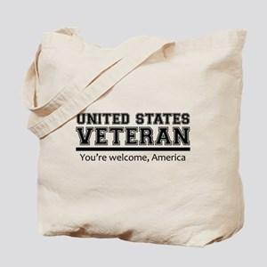 United States Veteran DD214 Tote Bag