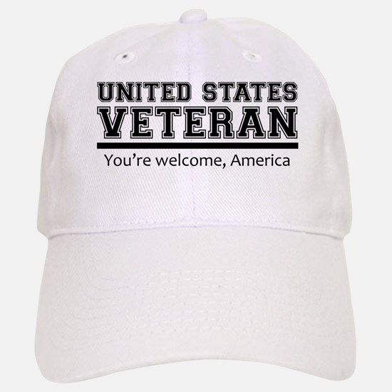 United States Veteran DD214 Baseball Baseball Baseball Cap