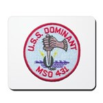 USS DOMINANT Mousepad