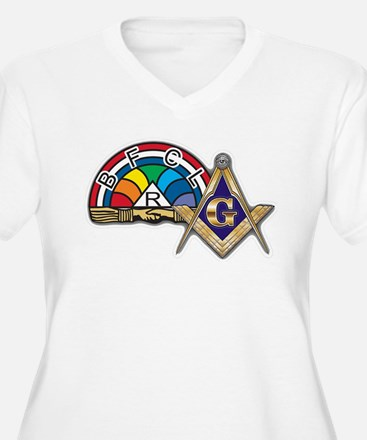 Masons supporting IORG Plus Size T-Shirt