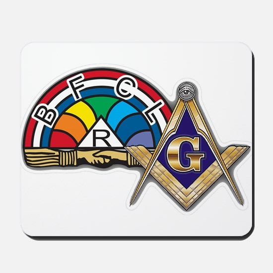 Masons supporting IORG Mousepad