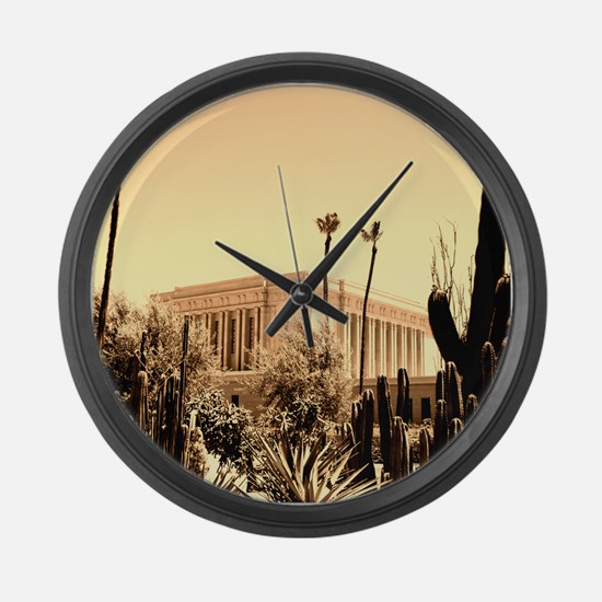 LDS Mesa Temple Large Wall Clock
