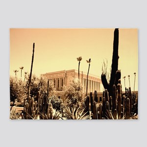 LDS Mesa Temple 5'x7'Area Rug