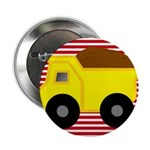 Red White Striped Dump Truck 2.25