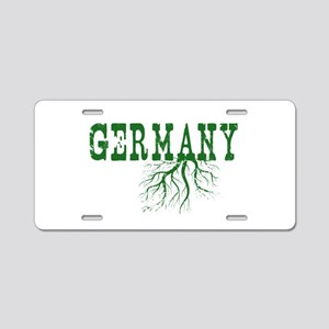 Germany Roots Aluminum License Plate