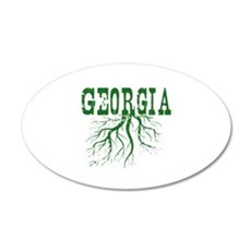 Georgia Roots Wall Decal