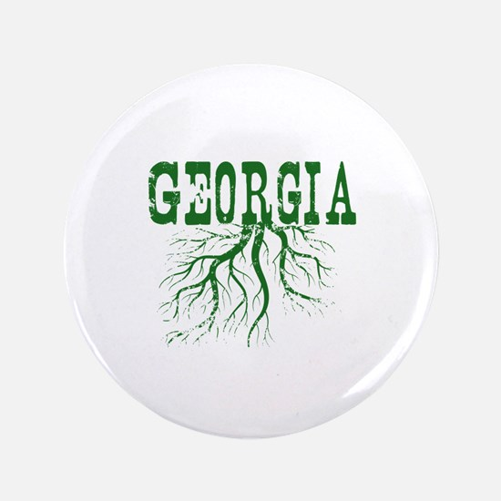 """Georgia Roots 3.5"""" Button"""