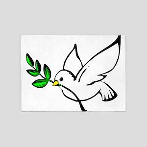 Peace 5'x7'Area Rug